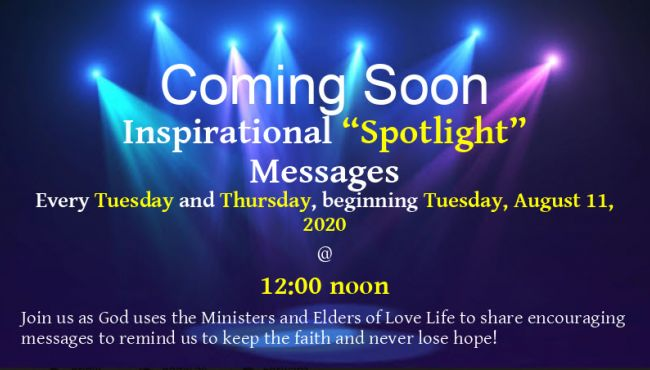 Spotlight Messages
