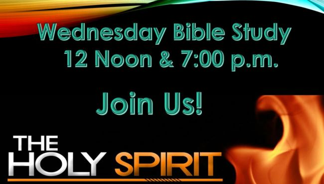 Wednesday Bible Study