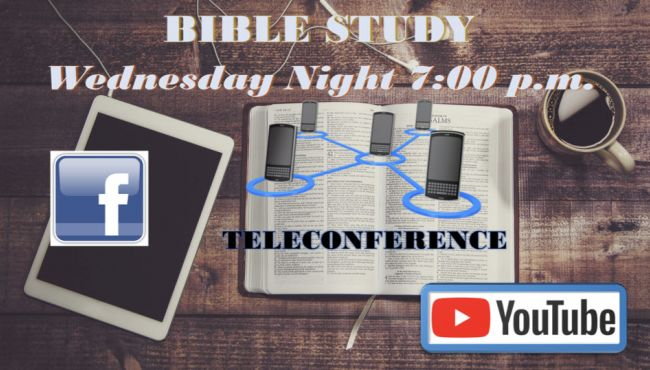 Wednesday Night Bible Study Online